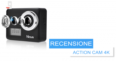 RECENSIONE Action Camera 4K NICAM