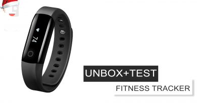 UNBOXING + BREVE TEST Fitness Tracker IP68 Mpow