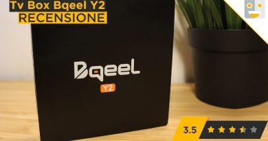 Come funziona il TV Box Bqeel Y2 – Android 7.1 Ne vale la pena?